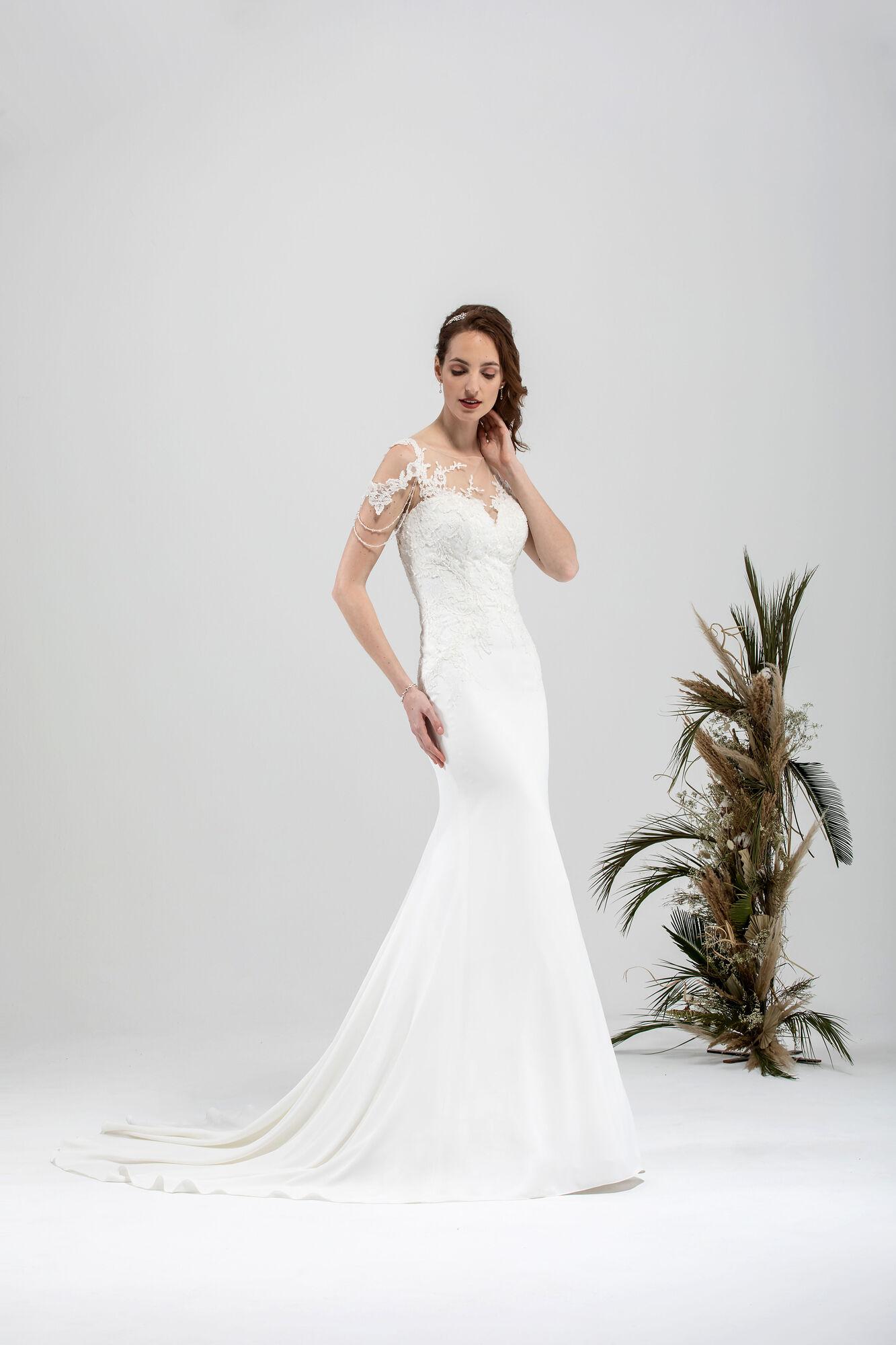robe de mariée droite,robe de mariée jupe